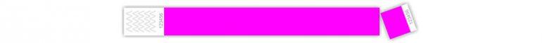 tyvek karszalag - tőszelvényes, pink