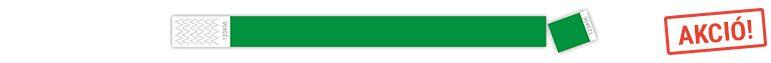 Zöld tyvek karszalag (akció)