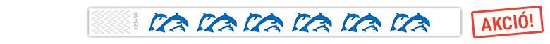 Delfines tyvek karszalag (akció)